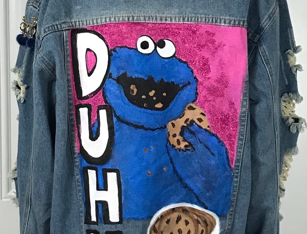 """Cookie Fiend"" Tacky Jacket (Size 1XL)"