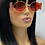 "Thumbnail: "" Freeze Pop"" Sunglasses (Red)"