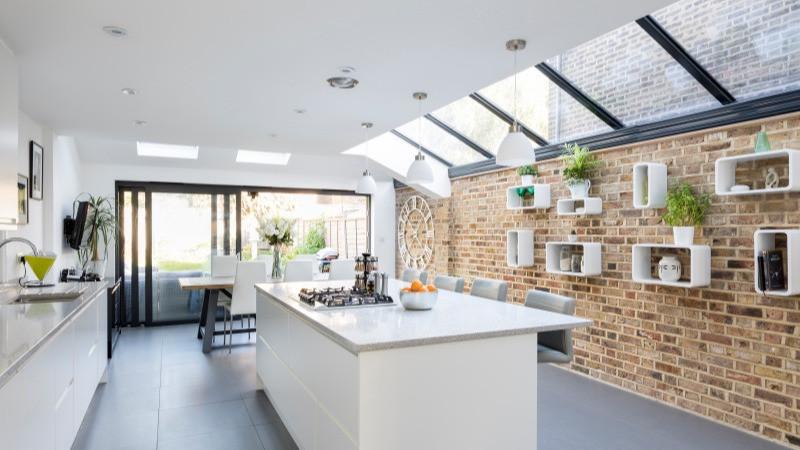 Wraparound Kitchen Extension