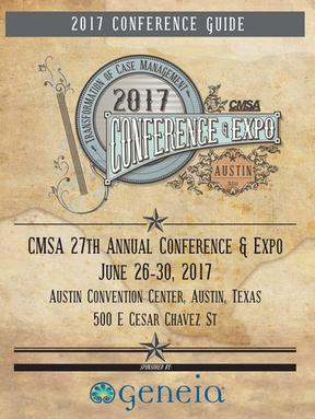 CMSA 27th Annual Conference ad Expo Conference Guide