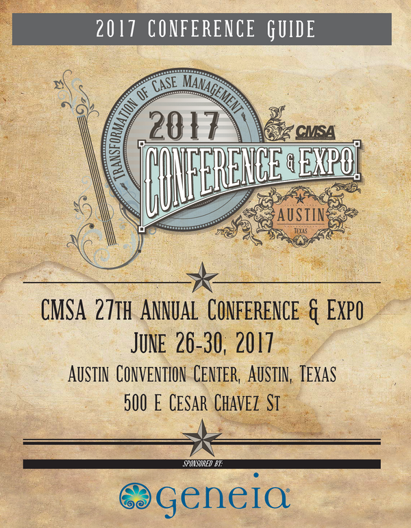 CMSA 27th Annual Conference ad Expo Conference Guide