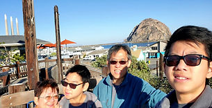 Short 2 day trip to Morro Bay, where we twice visited with Angkong in 2014-206