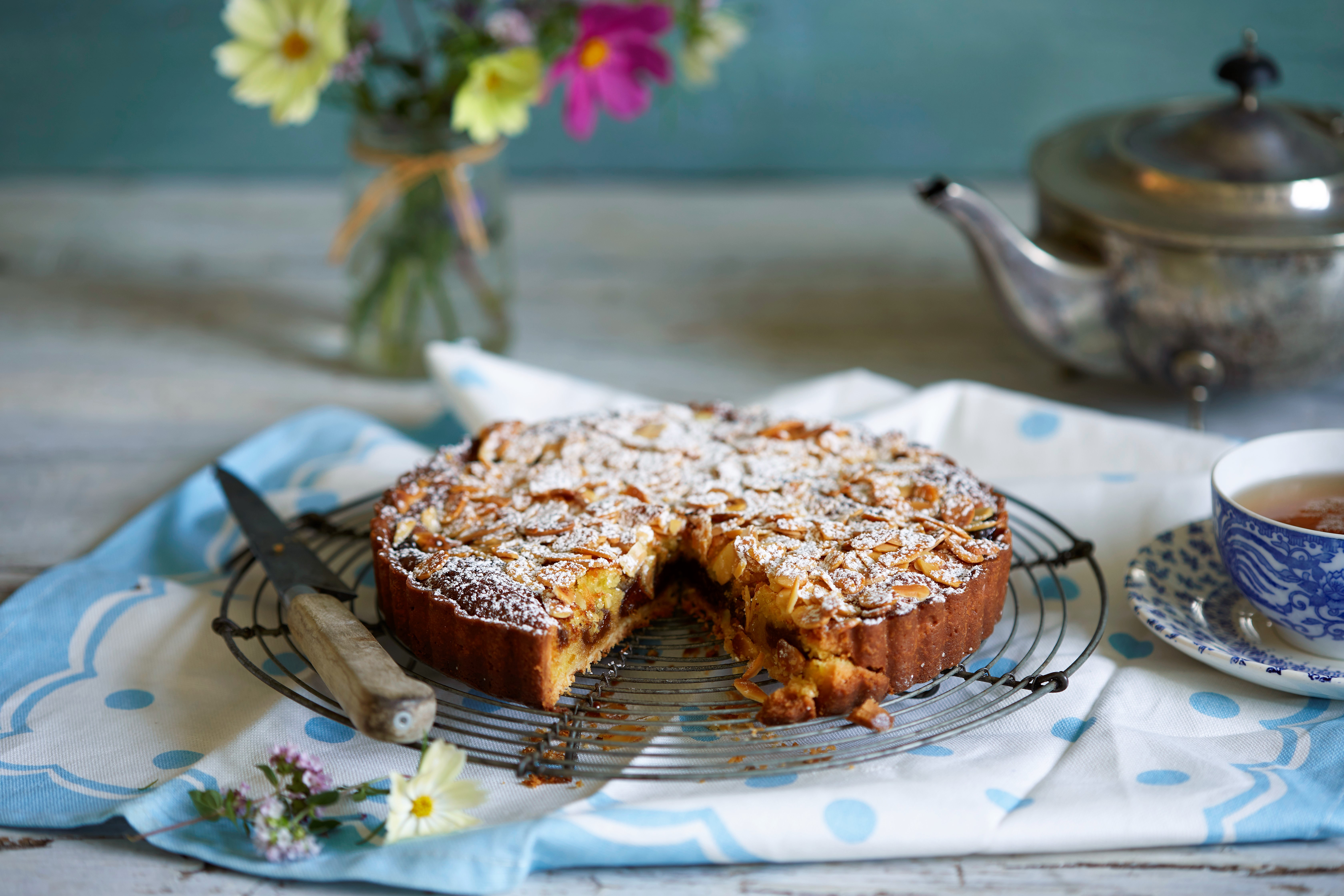Prune and Almond Tart
