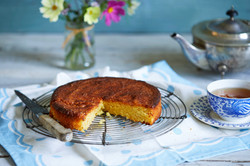 Lemon, Polenta and Almond Cake