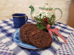 Organic Chocolate & Sea Salt Cookies