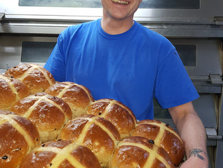 Our Giant Hot Cross Buns ...