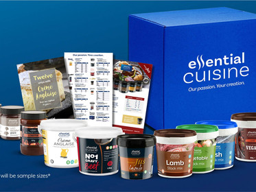 ESSENTIAL CUISINES range of innovation boxes, to encourage creativity during lockdown