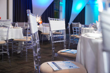 Silver Chair Sash - Decor Hire West Sussex