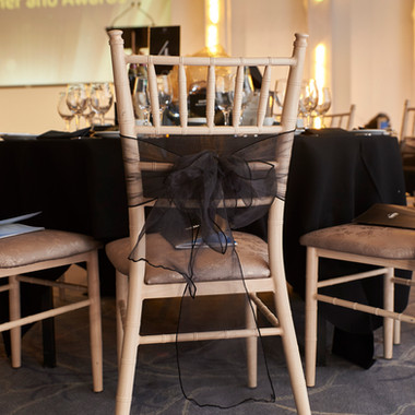 Chair covers & sashes - Decor Hire West Sussex - McCullough Moore Event Hire