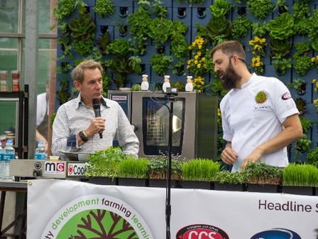 'Trout n' about', 'Kill and Cure' and 'Run Rabbit Run!' take to the stage at Craft Guild of Chef