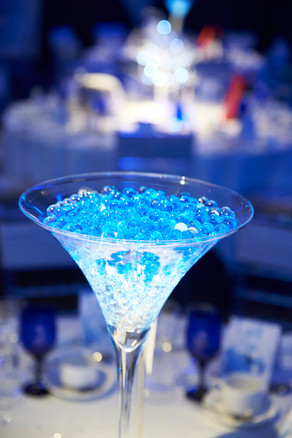 Ice Theme Gala Dinner theme party ideas - Decor Hire West Sussex