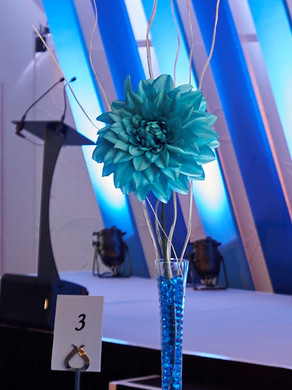 Tall Vase with Flower Code: T003 £15.00 +VAT Includes Mirror Base Plate