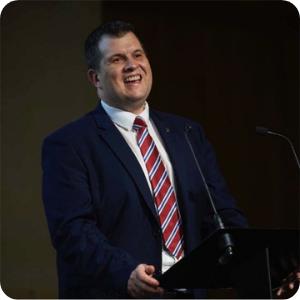 Adam Mason, Director General, ceda