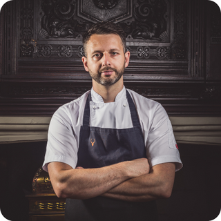 Mark Birchall, Chef Patron, Moor Hall Restaurant with Rooms and The Barn at Moor Hall