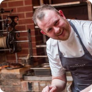 Jon Coates, Chef The Woodmans Restaurant
