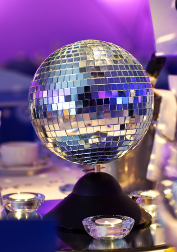 Disco Ball party hire - Decor Hire West Sussex