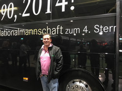 Björn fährt WM Bus