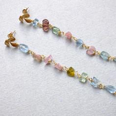 Orecchini multicolori