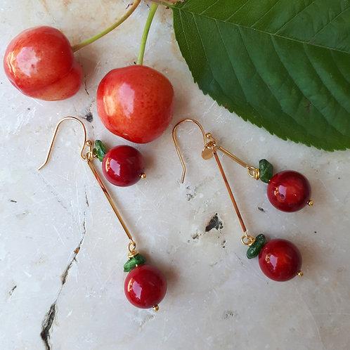 Orecchini ciliegia