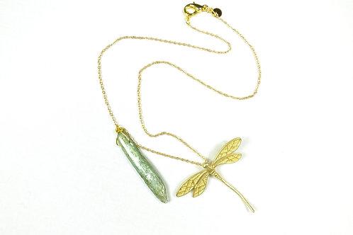 Collana con libellula