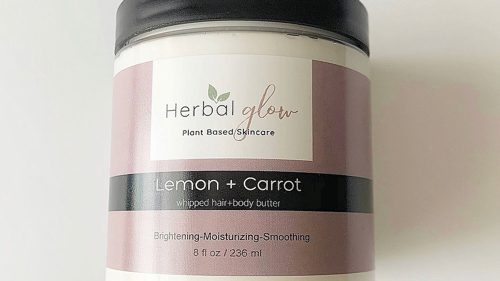 Lemon + Carrot Body Butter