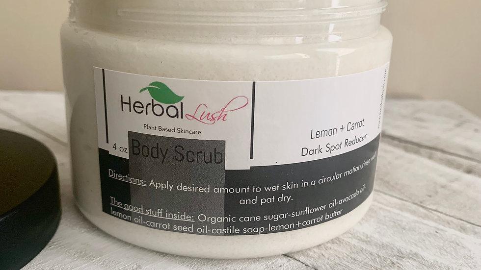 Lemon + Carrot Body Scrub