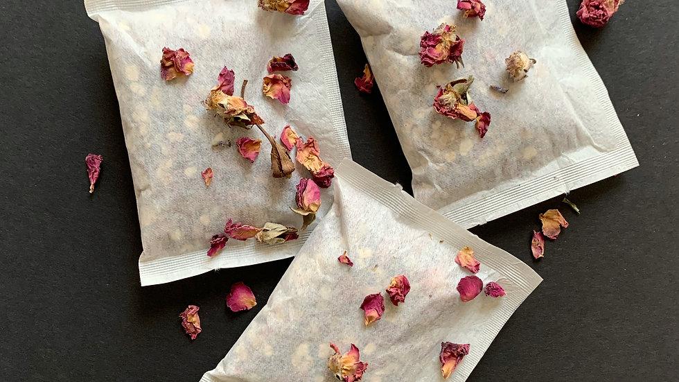 Bath Tea- Rose + Lavender  3 Pack