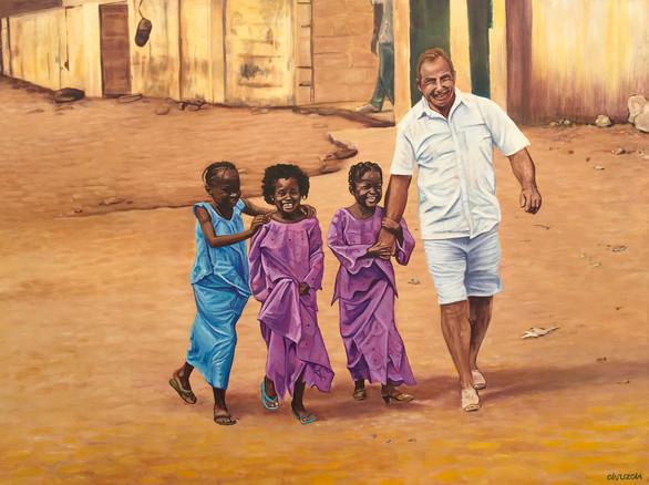 """Geluk in Gambia"""