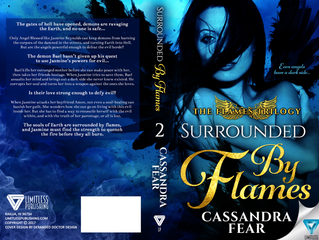 Release Day Blitz! SURROUNDED BY FLAMES, by Cassandra Fear