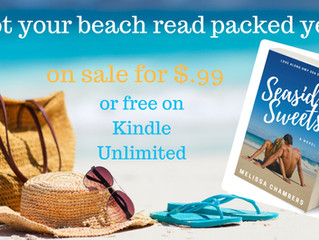 New Series Alert, Review, and Giveaway! SEASIDE SWEETS (Love Along Highway 30A Series) by Melissa Ch