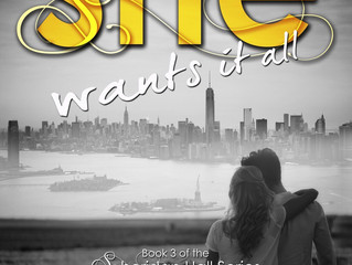 It's my Cover Reveal- SHE WANTS IT ALL (Book 3, Sheridan Hall Series)