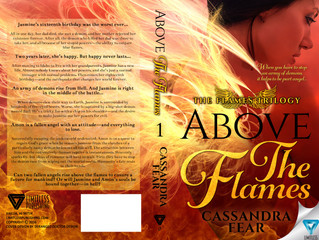 Cover Reveal! ABOVE THE FLAMES by Cassandra Fear