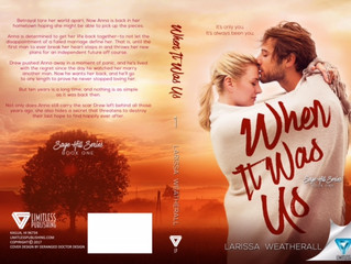 Cover Reveal and Giveaway! WHEN IT WAS US by Larissa Weatherall