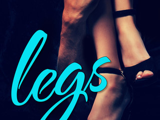 Cover Reveal and Excerpt! LEGS by Kelly Siskind