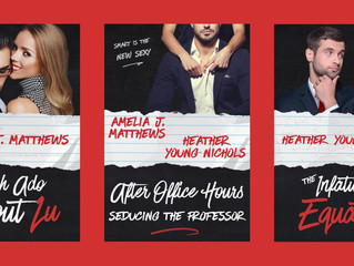 Cover Reveal! AFTER HOURS: SEDUCING THE PROFESSOR by AJ Matthews and Heather Young-Nichols