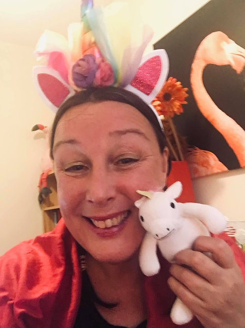 'Una the Unicorn'- A tale of being special just as you are.