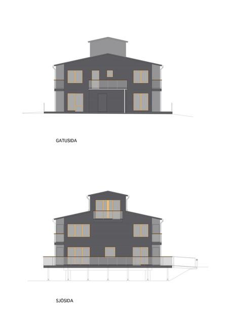 Brygghusen, fasader