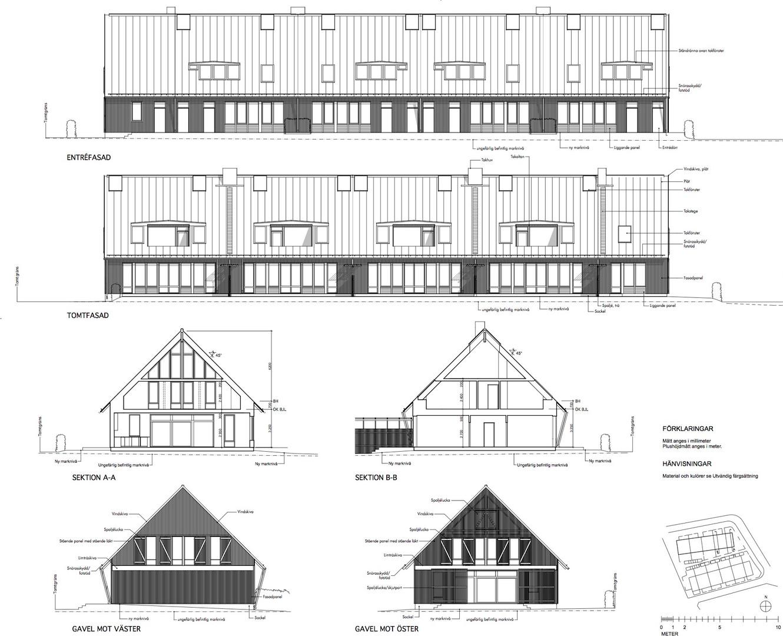 Fasader och sektioner