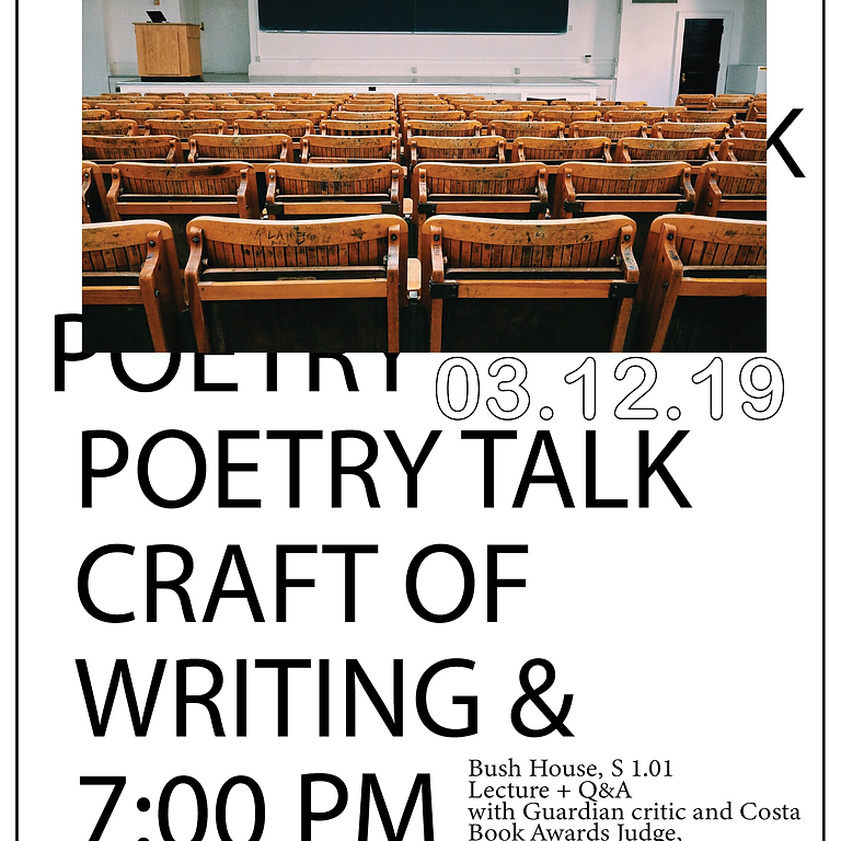 Poetry Talk with Jade Cuttle
