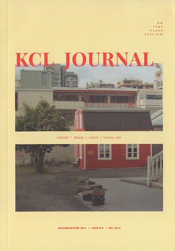 KCL Journal Issue 9 cover