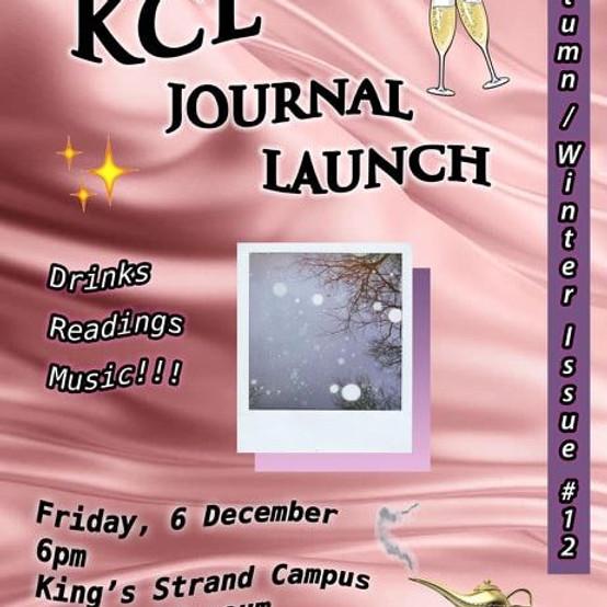KCL Journal Autumn/Winter Launch Party