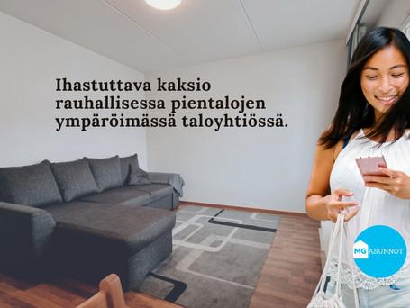 43 m2 Kaksio - Sipurantie 8, Lahti - vapautuu 31.10.2021