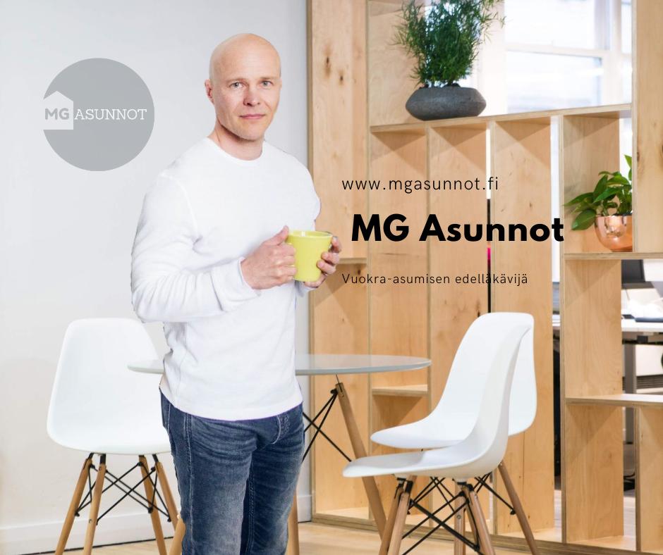 Markus Grahn - MG Asunnot perustaja