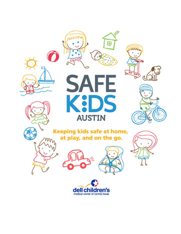 Safe Kids Austin T-Shirt Design