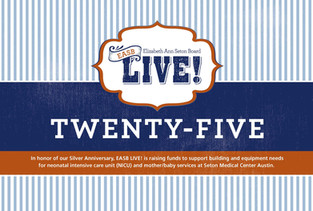 EASB LIVE 8 Page Fundraising Booklet Cover