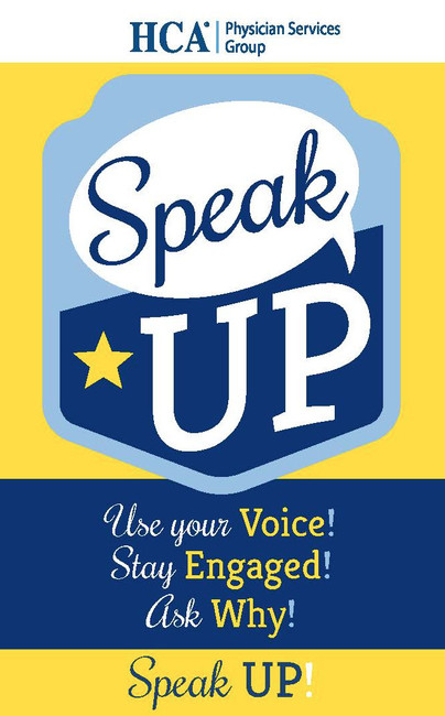 Speak Up Badges and Campaign Pieces