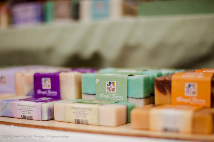 Fleegal Farms Soap Label