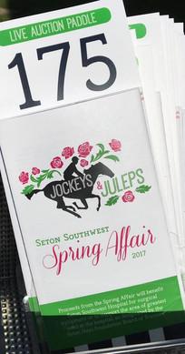 Seton Spring Affair Logo Design