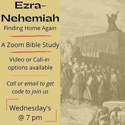 Bible Study for Ezra-Nehemiah
