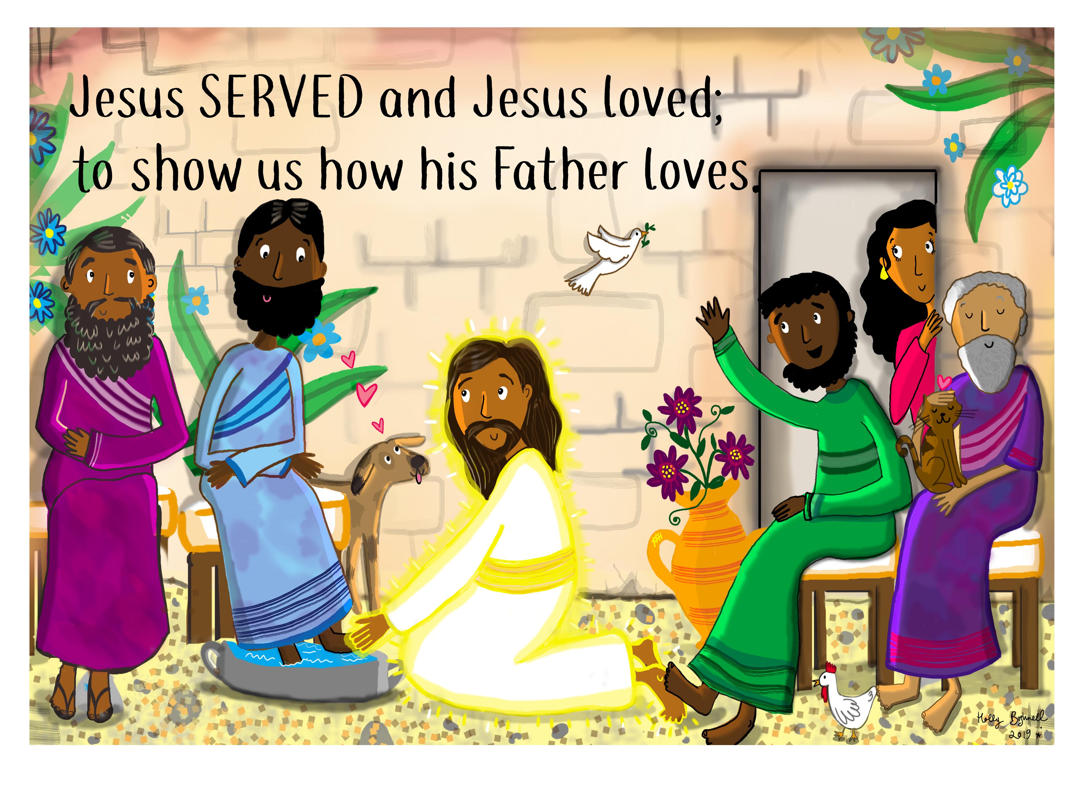 Jesus Served 2/4